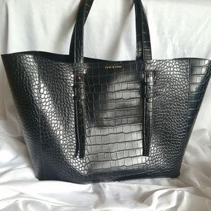 Love & Lore Faux Alligator Tote Bag